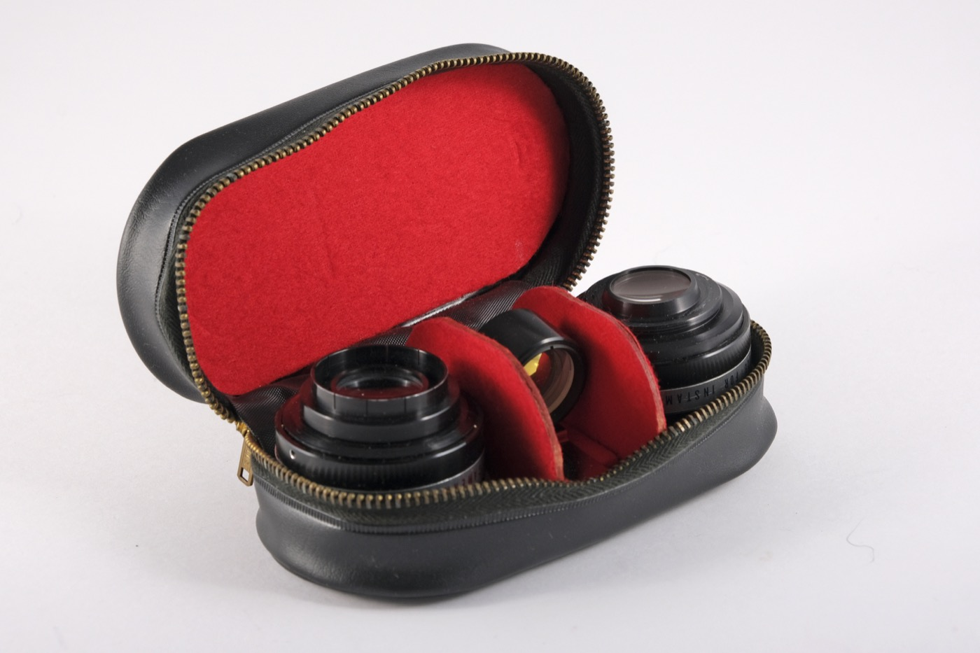 Auxiliary lenses and finder for Kodak instamatic cameras