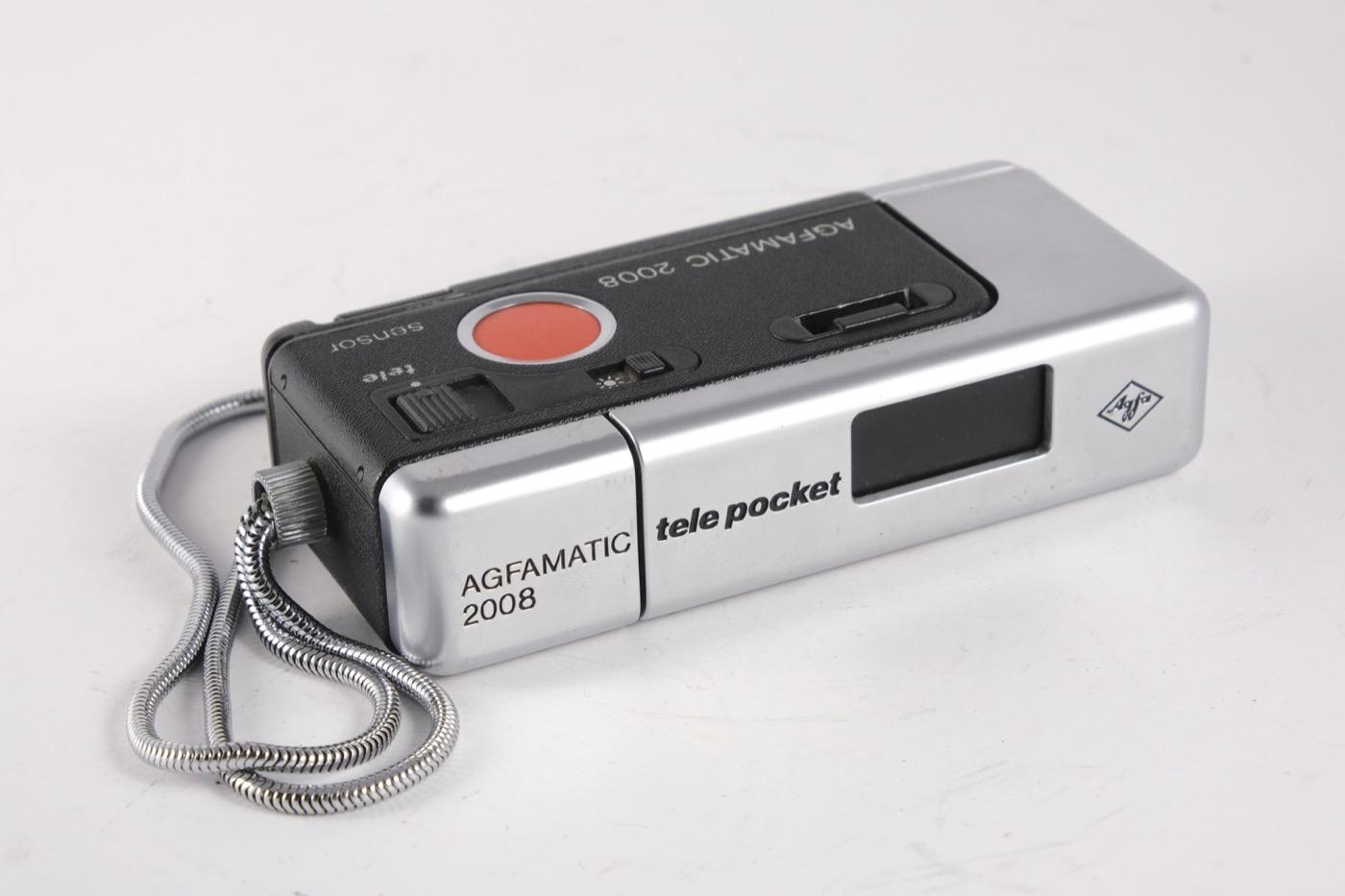 Agfamatic Tele Pocket 2008 Sensor camera